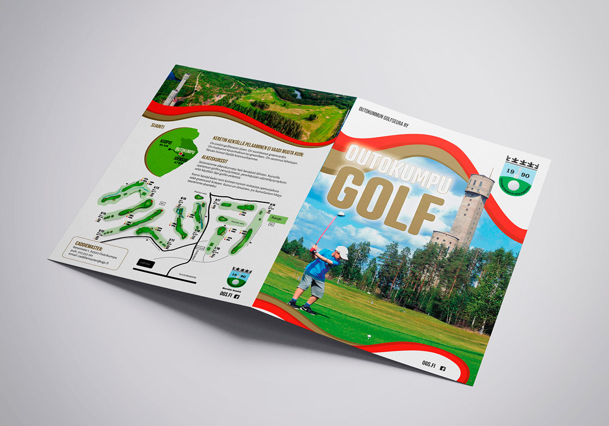 Outokummun golf esitesuunnittelu Antibox