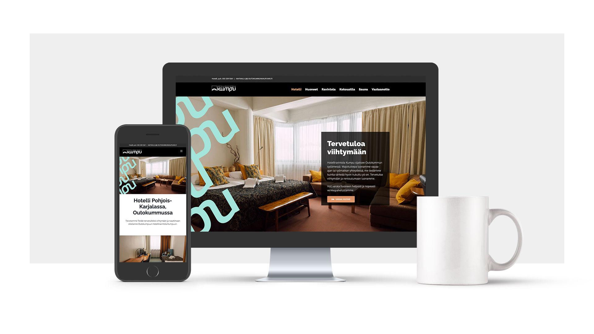 Hotelliravintola kumpu verkkosivut